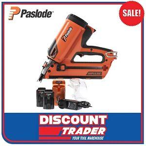 Paslode B20580 FrameMaster-Li PowerVent Impulse Framing Nailer Kit 50mm - 90mm