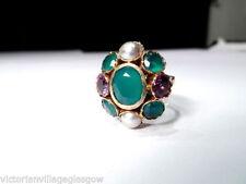 Amethyst Ring Retro Fine Jewellery (1940s)
