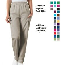 Cherokee Scurbs WorkWear Regular Pull On Cargo Pants 4200 Choose Color/Size NWT
