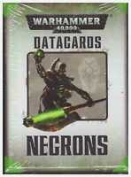 GW: Warhammer 40k (7th Edition) Necrons Datacards Factory Sealed