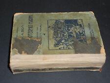 Amleto Bosi MOTORI ENDOTERMICI MARINI I^ Ediz. 1927 Ulrico Hoepli Editore-Milano