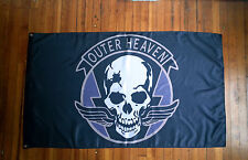 Metal Gear Solid Outer Heaven Flag from The Phantom Pain and Venom Snake