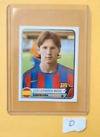 🔥LIONEL MESSI #74 🔥 ROOKIE PANINI CHAMPIONS OF EUROPE 2005 Excellent  RARE D