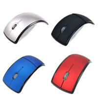 Optical Foldable Wireless 2.4G Mice Mouse USB Receiver Se For Laptop PC E7R2