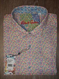 "Brand New XL Robert Graham ""Pocatello"" Short Sleeve Shirt"