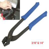 """New Brake Pipe Bender Bending Pliers For Cooper Tube 3/16"""" And 1/4"""" Pipe Making"""