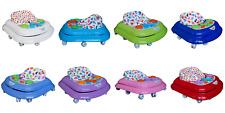 Gehfrei Baby Walker Lauflernwagen Lauflernhilfe mit Spielbrett Wunsch Farben