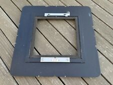 "Plaubel Peco / Profia 8x10"" ~ 4x5"" Reducing Plate Adapter - Clean and Tested"