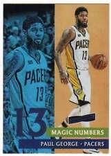 2016-17 Panini Aficionado Basketball Magic Numbers #10 Paul George Pacers