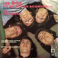 """Los Brios Yo Se Que Te Acordaras de mi ep 45rpm 7"""" Latin Ballad 1973"""