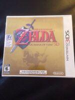 Nintendo 3DS The Legend Of Zelda Ocarina Of Time 3D Factory Sealed