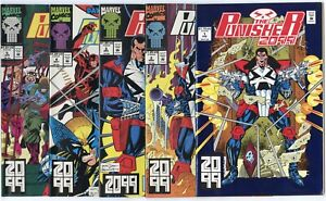 Punisher 2099 #1 - 17  Complete Run  avg. NM 9.4 white pages  Marvel  1993