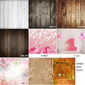 NEW Wood Floor Backdrop Vinyl Fabric Photo Prop Newborn Baby Photography 150cm