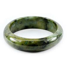 TOP JADE BANGLE : 442,10 Ct Natürlicher Grüner Jade Armreif (Jadeit ) aus China