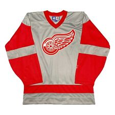Vtg Rare NHL Detroit Redwings Alternate Starter Hockey Jersey. Mens Medium.