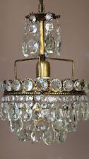 Antique Mini Vintage Crystal Chandelier, Ceiling Lighting, Home lamp & pendant