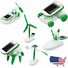 Engineering Solar Powered Kids Toy Science Experiment Gift Robotics Kit gift P