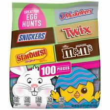 M&M'S, Snickers, Twix, 3 Musketeers & Starburst Chocolate Easter Candy,