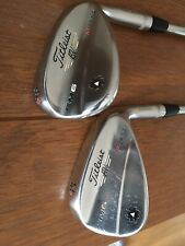 Titleist Vokey SM6 Wedge Set 52 and 58 degree wedges