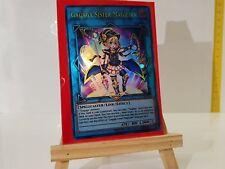 YuGiOh Orica Gagaga Sister Magician Holo Götter Custom Super