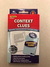 Edupress Reading Comprehension Practice Cards, Context Clues EP3072 New