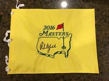 * PHIL MICKELSON * signed autographed * MASTERS GOLF FLAG * 3X WINNER *