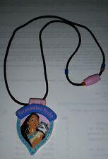 Pocahontas Locket  Disney Applause Plastic Jewelry VERY RARE