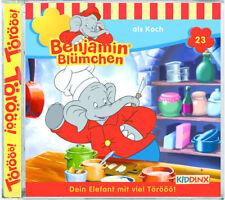 Benjamin Blümchen - Folge 23 - als Koch - Hörspiel - CD - *NEU*