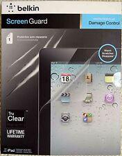 Belkin iPad 4 3 & 2 Screen Guard Anti Scratch Self Repairing Protector