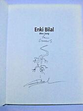 BILAL DEDICACE Bleu Sang Ed. Christian Desbois EO 1994 TBE
