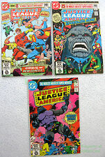 Justice League America #183 184 185 1st & Complete DARKSEID Story George Perez!