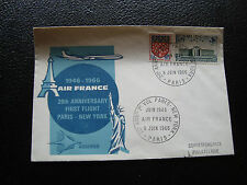 FRANCE - enveloppe 8/6/1966 (air france) (cy85) french