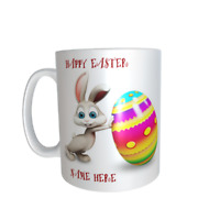 EASTER BUNNY PERSONALISED CHILDREN'S MUG