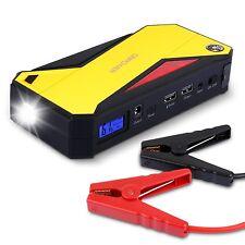 DBPOWER 600A Peak 18000mAh Portable Car Jump Starter DJS50 External Battery S...