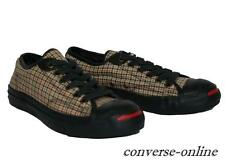 Womens Boys CONVERSE Scottish Plaid JACK PURCELL TWEED Trainers Shoes SIZE UK 5