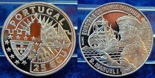 Portugal 25 Ecu König Manuel I. PP, 1994, Silber 1000 PP (proof)