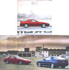 Mazda RX-7 Rotary Coupe 1988-89 Original UK Sales Brochure