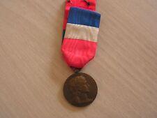 belle medaille  republique francaise attribuee ministere de la guerre 1937