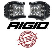 Rigid Industries D-SS PRO Side Shooter LED Light Set - Driving / Black Body