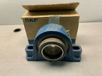 "NEW IN BOX SKF 2-BOLT PILLOW BLOCK BEARING 3"" BORE SYR 3"