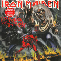 Iron Maiden - Number Of The Beast (Vinyl LP - 1982 - US - Reissue)