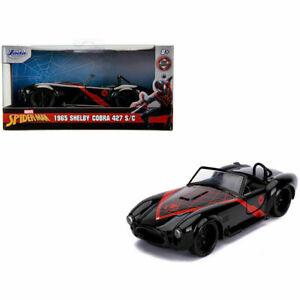 jada 1:32 Hollywood rides spiderman 1965 shelby cobra car