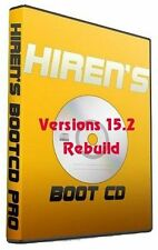 HIRENS BOOT CD 15.2 REBUILD ALL IN ONE BOOTABLE CD COMPLETE REPAIR SOFTWARE