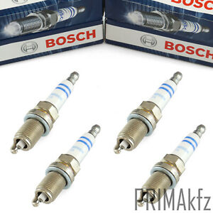 4x Bosch Candele Doubleplatin per BMW 1er 118i 120i 3er 316i 318i 320i Ti Ci