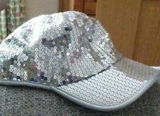 Girls silver M&S dance cap age 10-14