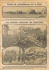 Germany Attack Fire Incendie Factory East Youngstown state of Ohio USA WWI 1916