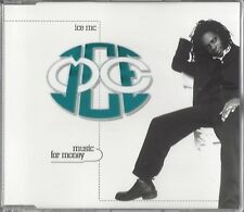 ICE MC / MUSIC FOR MONEY * NEW MAXI CD 1996 * NEU *