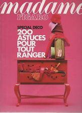 madame FIGARO 06/10/1990 special deco jc brialy