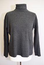 LYLE & SCOTT Casual Sweat Shirt Top Polo Neck Size M 16