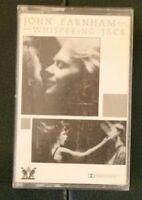 John Farnham Whispering Jack cassette SFK1 0149 Wheatley records